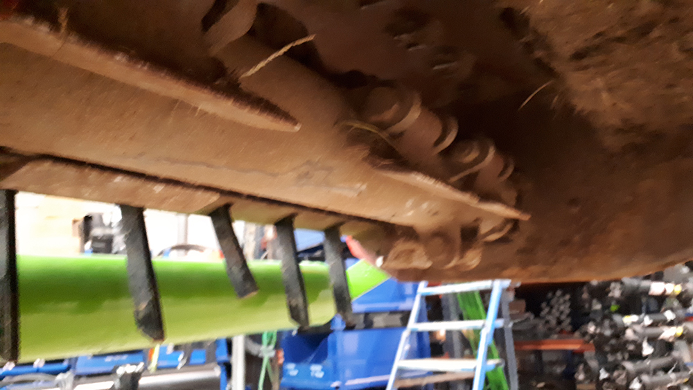 trituradora Mila-180 2 ocasion 2