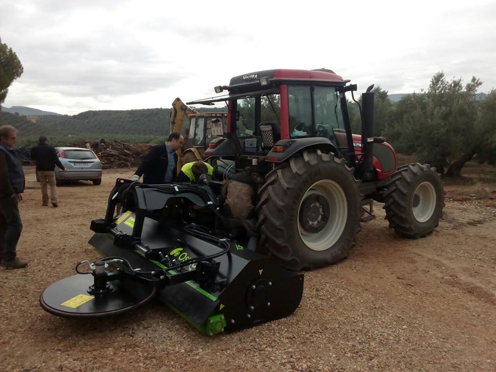 Trituradora Agricola TFR osmaq 3